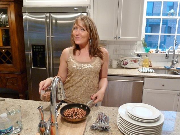 Elissa cooking