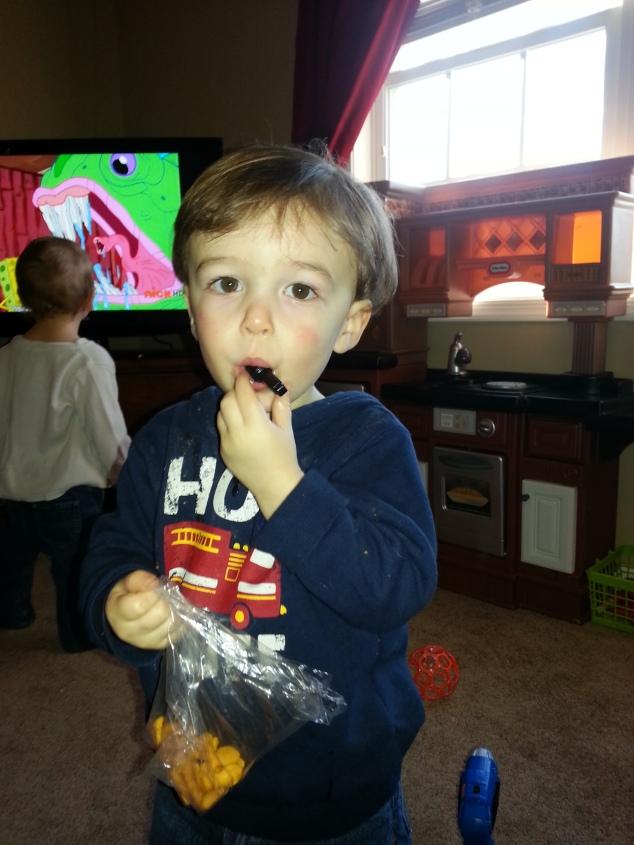 nephew #1, 18 months