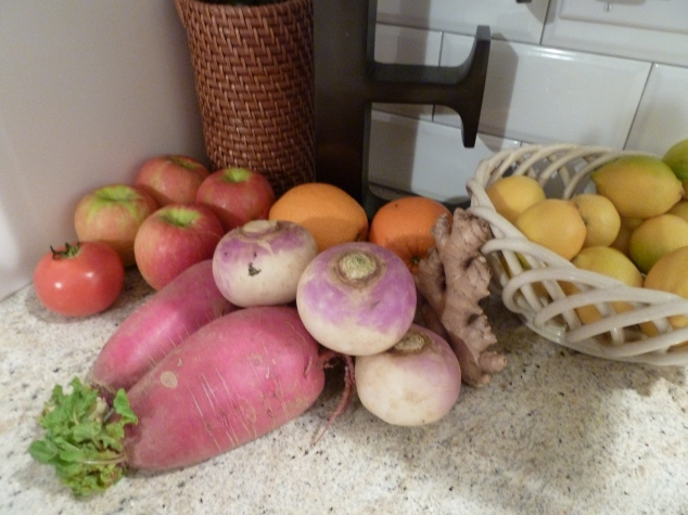 Only a few of the veg/fruit in my house
