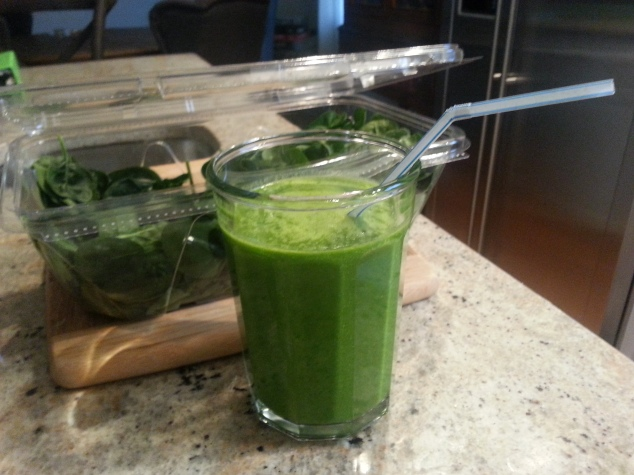 Green Madness Protein Smoothie
