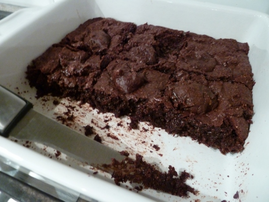 Buckwheat brownies
