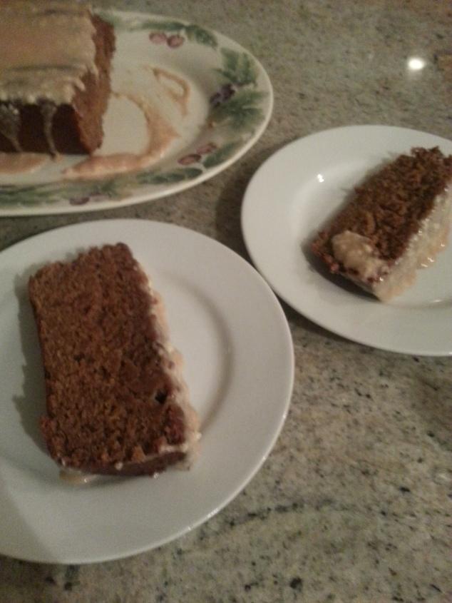 Acorn Squash spice cake
