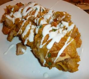 pumpkin enchiladas