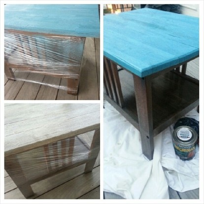 outdoor table redo