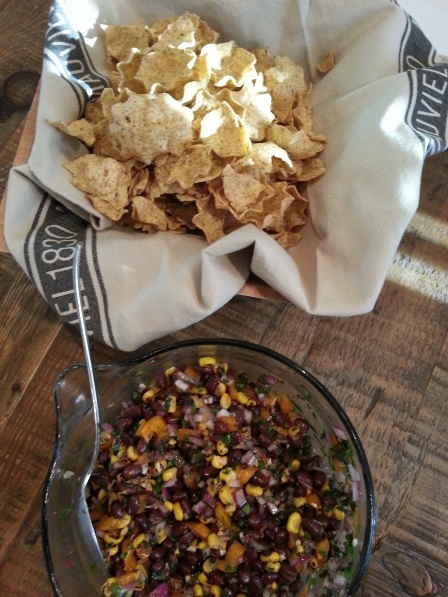 Southwestern Black Bean and Corn Salsa