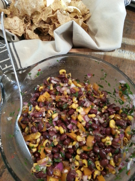 Southwestern Salsa with Black Beans and Corn