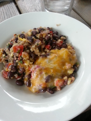 mex quinoa bake