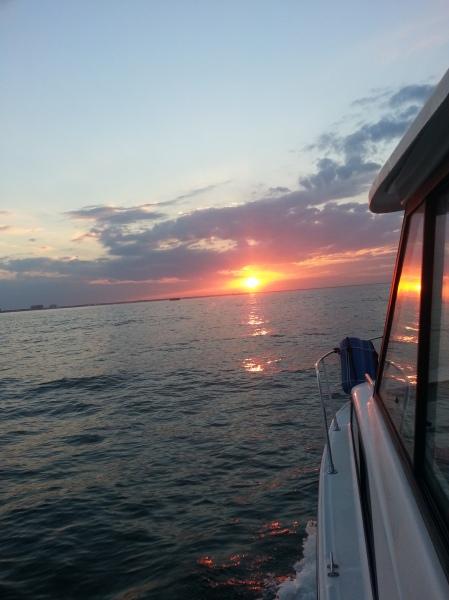 va beach sunset