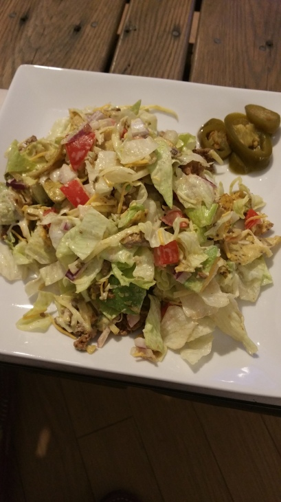 chopped taco salad