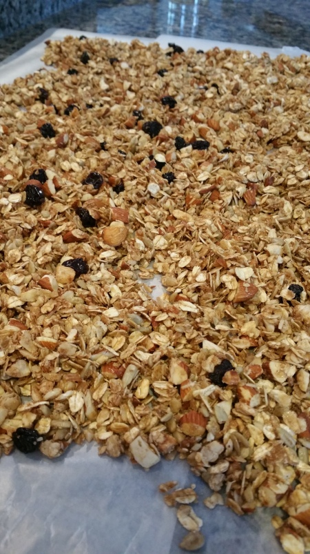 PUMPKIN PIE SPICE COCONUT OIL GRANOLA