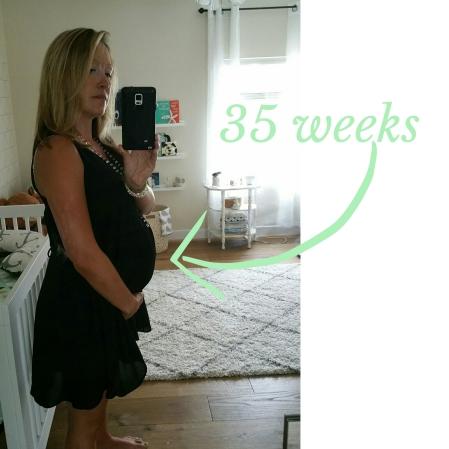 Elissa 35 weeks