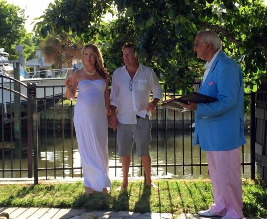 ceremony Elissa and Travis