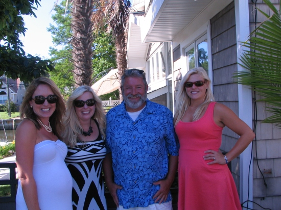 Elissa, Marna, Scott and Emily