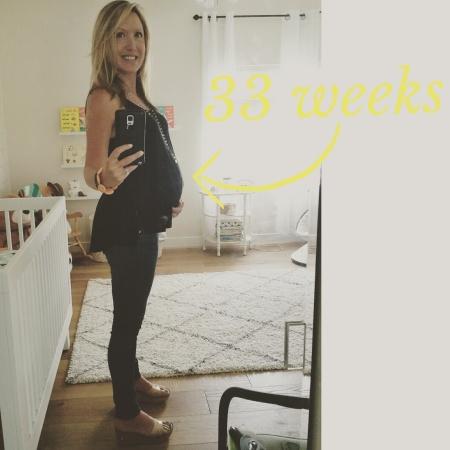 Elissa 33 weeks