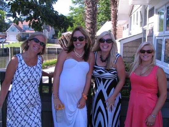Laura, Elissa, Marna and Emily