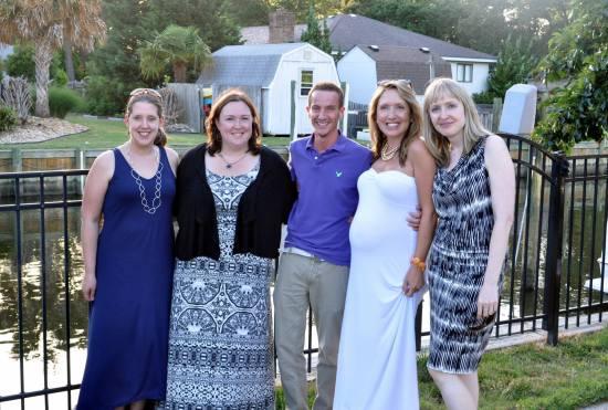 Teresa, Dana, Chris, Elissa and Zandria